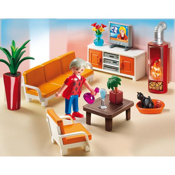 Playmobil La Maison De Ville : Chambre De Bébé, Cuisine