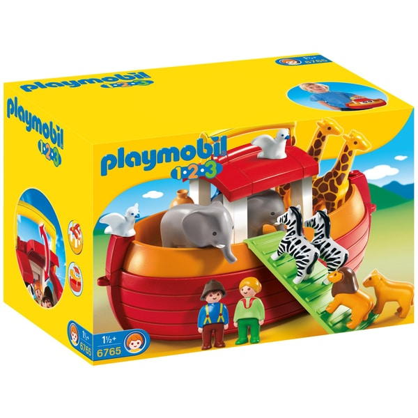 6765 arche de no transportable playmobil 1 2 3. Black Bedroom Furniture Sets. Home Design Ideas