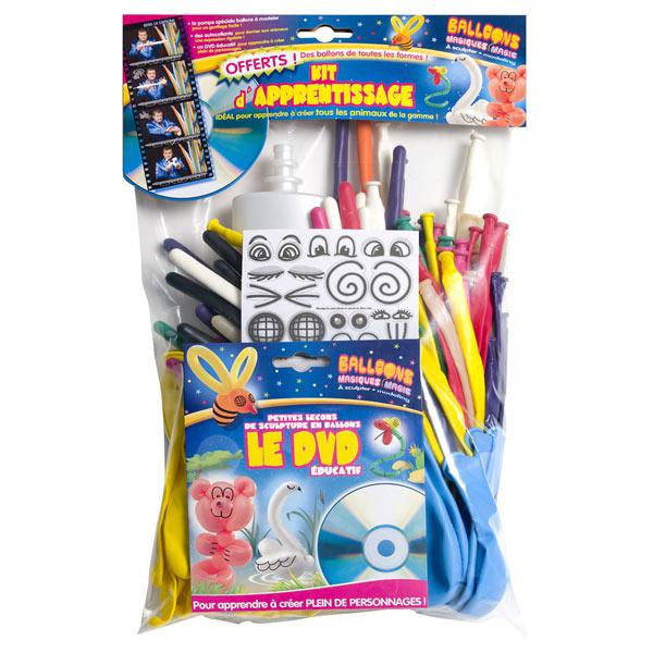 Kit d'apprentissage pour ballons pour 20€