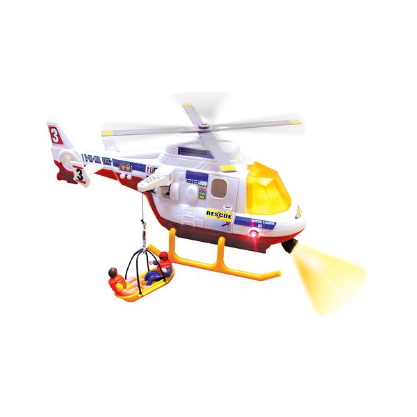 Hélicoptère sons et lumières