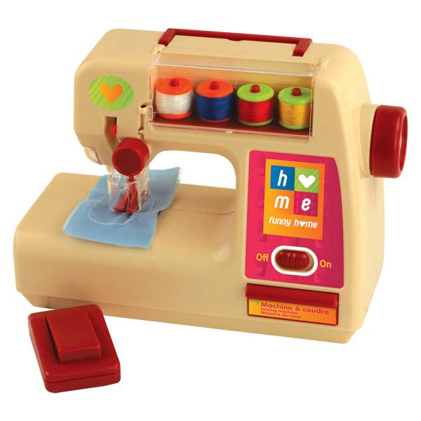 Faire comme les grands jeux d 39 imitation mondes for Machine a coudre jouet