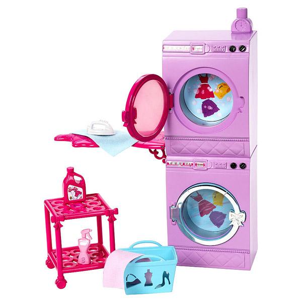 Barbie Mobilier Basique Machine à Laver+ Accessoires de poupées + Mattel