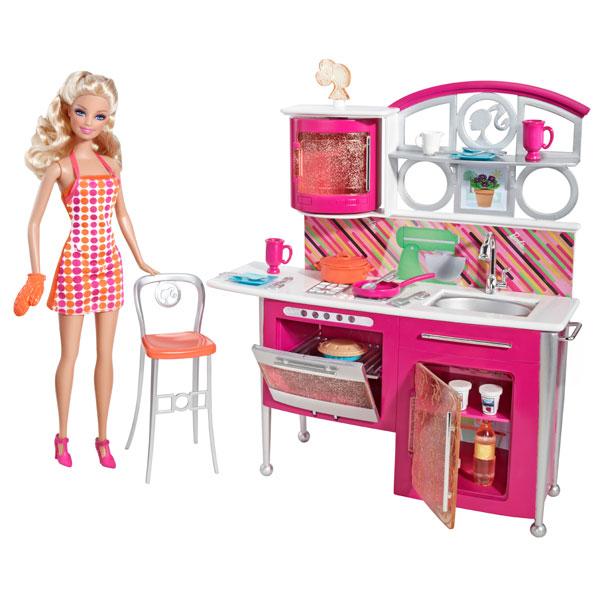 Poupée et mobilier de luxe - cuisine pour 36€
