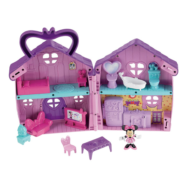 La maison de minnie mattel king jouet h ros univers for Maison de jardin jouet