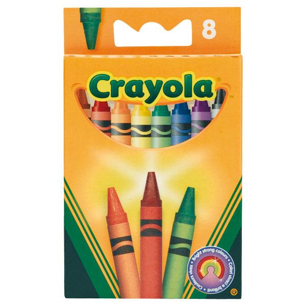 8 Crayons à la cire