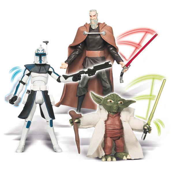 Clone wars figurine standard série 2 pour 13€