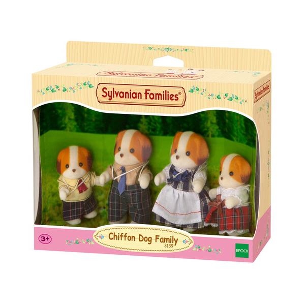 Famille chien chiffon sylvanian pour 25€