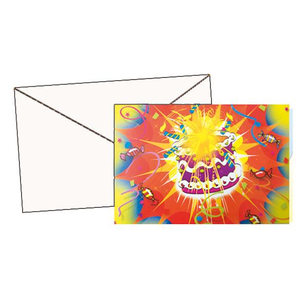 10 cartes d'invitations + enveloppes pour 4€