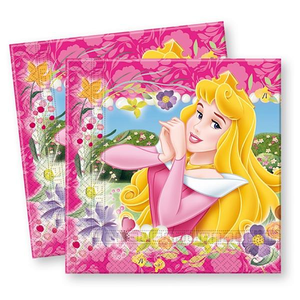 16 serviettes disney princesses pour 5€