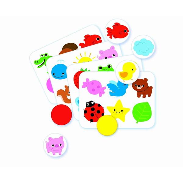 Jeux éducatifs couleurs et formes