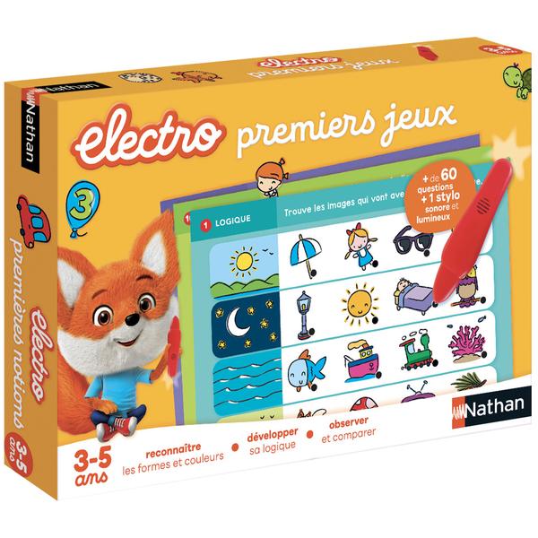 Jeu éducatif électronique premiers jeux