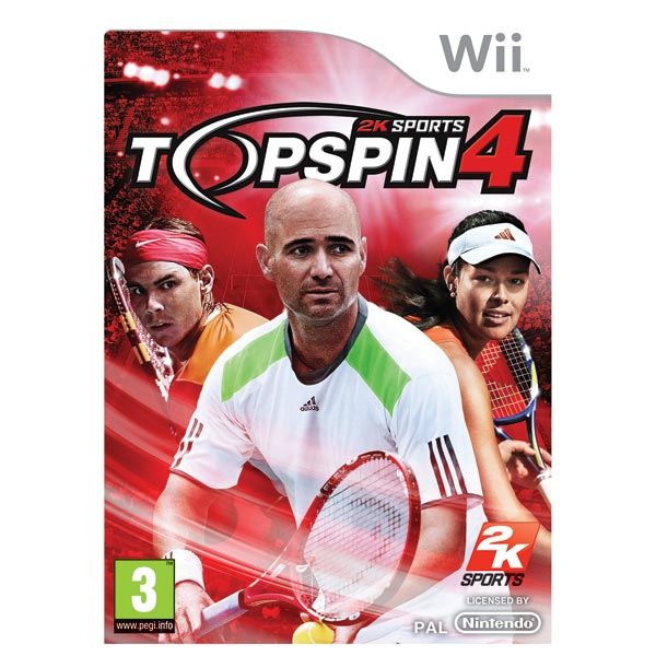 Jeu Wii Top Spin 4+ Jeux vidéos + Nintendo WII