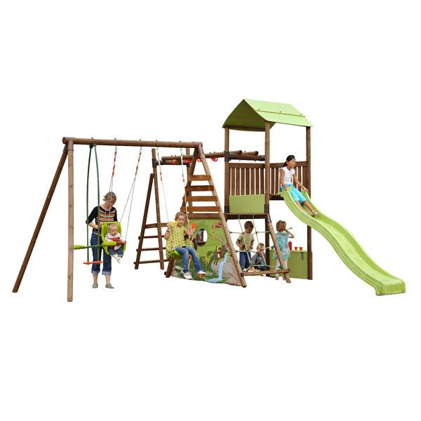 aire de jeux cumulus soulet king jouet portiques balan oires et toboggans soulet sport et. Black Bedroom Furniture Sets. Home Design Ideas