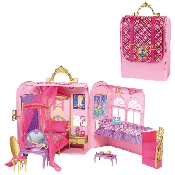 maison barbie transportable. Black Bedroom Furniture Sets. Home Design Ideas