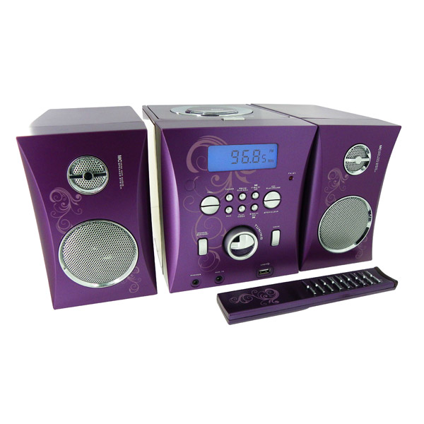 micro chaine radio cd mp3 usb t l commande bigben king. Black Bedroom Furniture Sets. Home Design Ideas