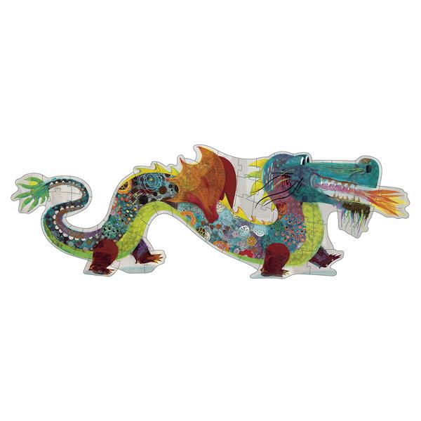 Puzzle géant 58 pièces Léon le dragon