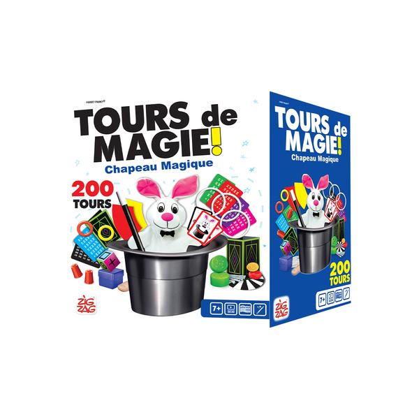 chapeau magie 200 tours logitoys king jouet jeux d 39 action logitoys jeux de soci t. Black Bedroom Furniture Sets. Home Design Ideas