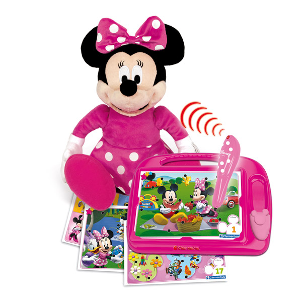 peluche minnie lectronique de clementoni. Black Bedroom Furniture Sets. Home Design Ideas