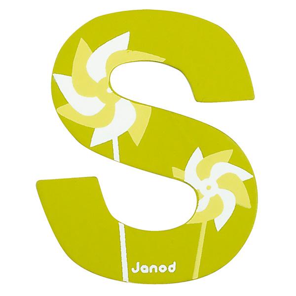 Lettre décorative en bois S Janod  King Jouet