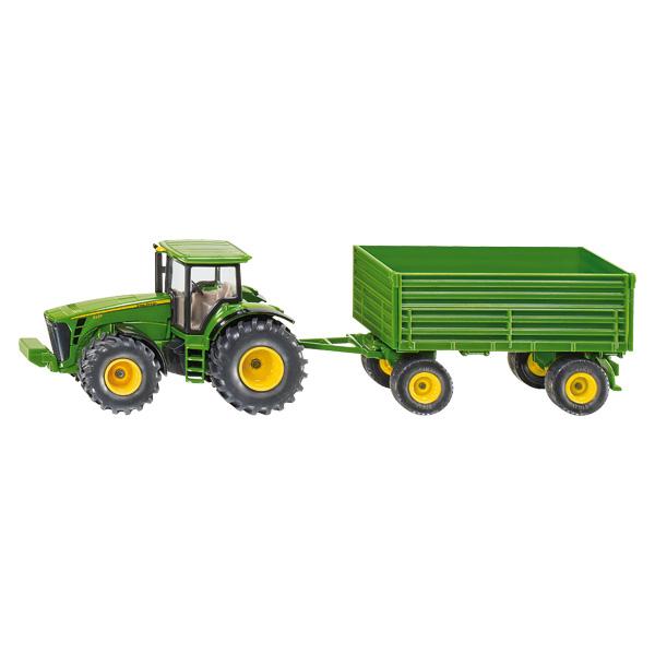 bb0fe6ab6c3e31 Tracteur John Deere avec remorque Siku   King Jouet, Véhicules de ...