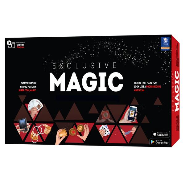 coffret de magie de luxe et dvd logitoys king jouet jeux d 39 action logitoys jeux de soci t. Black Bedroom Furniture Sets. Home Design Ideas
