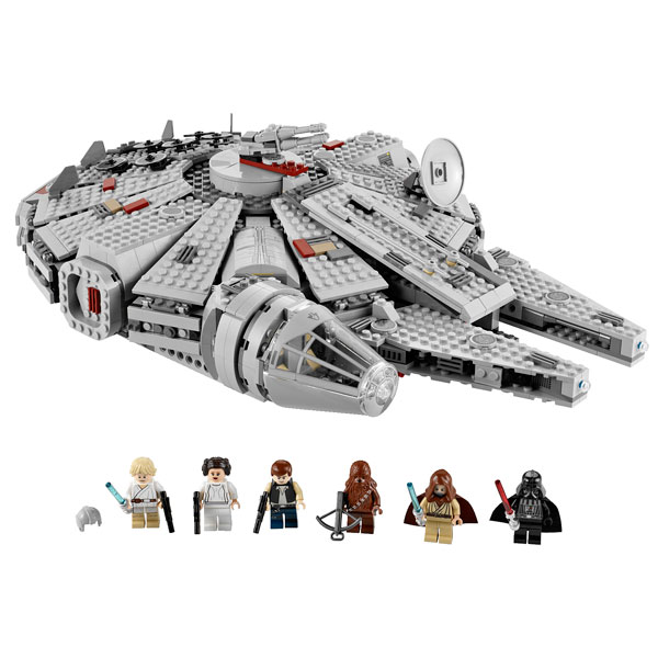 7965 millenium falcon lego king jouet lego planchettes. Black Bedroom Furniture Sets. Home Design Ideas