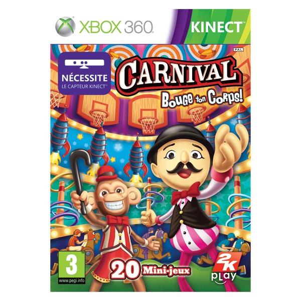 Jeu XBox 360 Carnival : Bouge ton corps+ Jeux vidéos + Microsoft XBOX 360