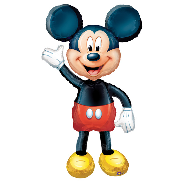 Ballon gonflable airwalker mickey pour 15€