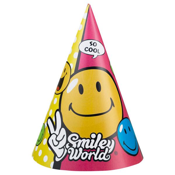 6 chapeaux fêtes smiley comic pour 2€