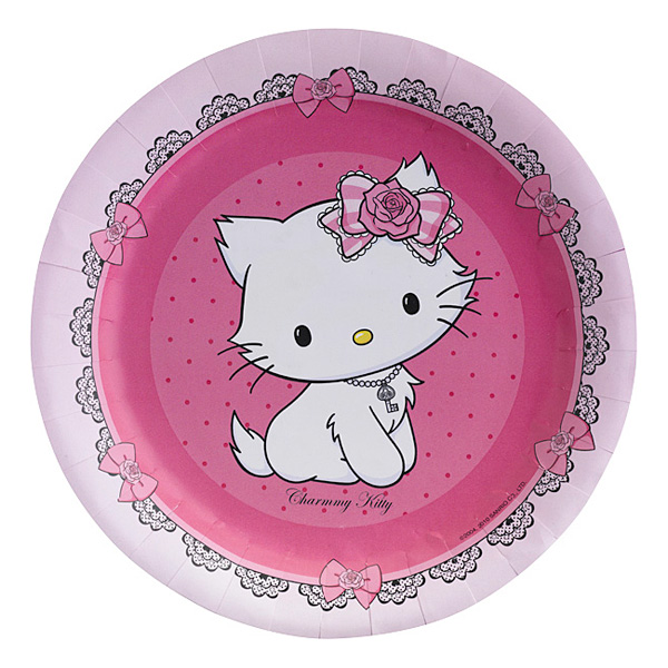8assiettes charmy kitty pour 3€