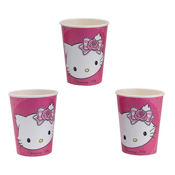8gobelets charmy kitty pour 3€