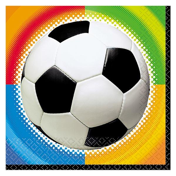 Serviettes football pour 3€