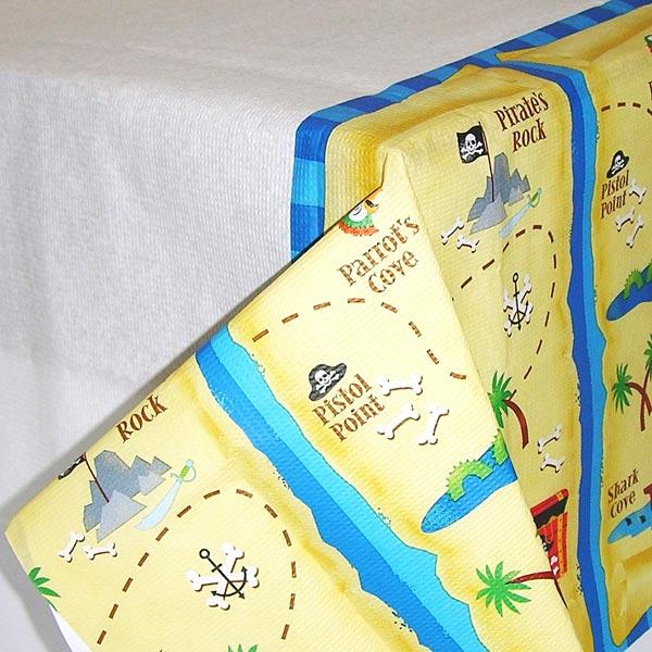 Nappe papier trésor pirates pour 5€