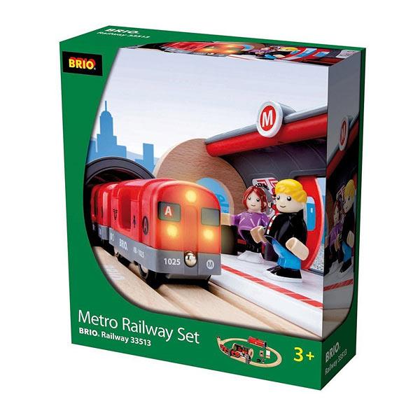 Brio 33513-Circuit métro