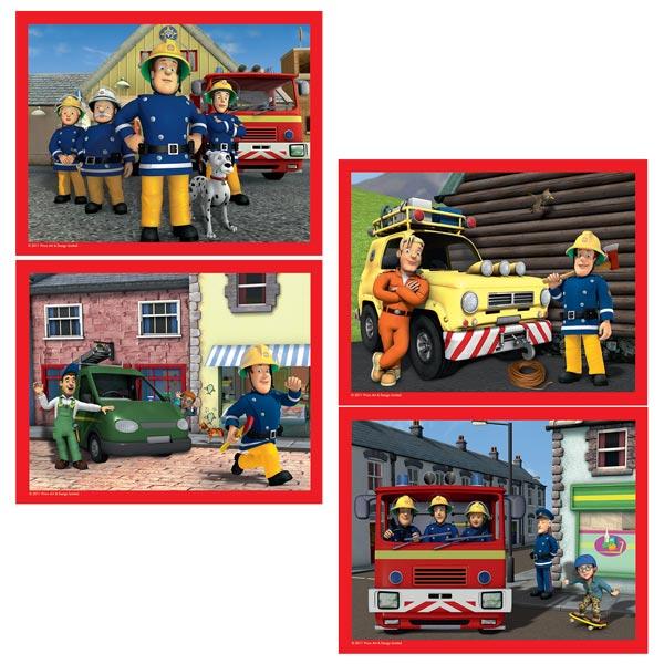 Carte d 39 anniversaire sam le pompier nanaryuliaortega blog - Decoration anniversaire sam le pompier ...