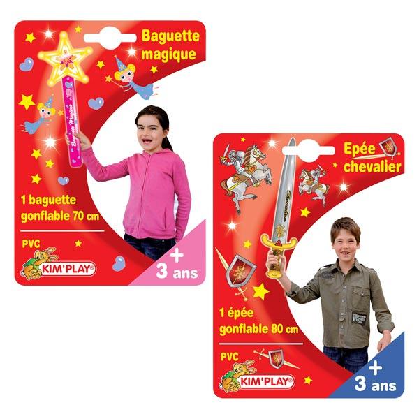 Baguette magique gonflable 70 cm pour 3€
