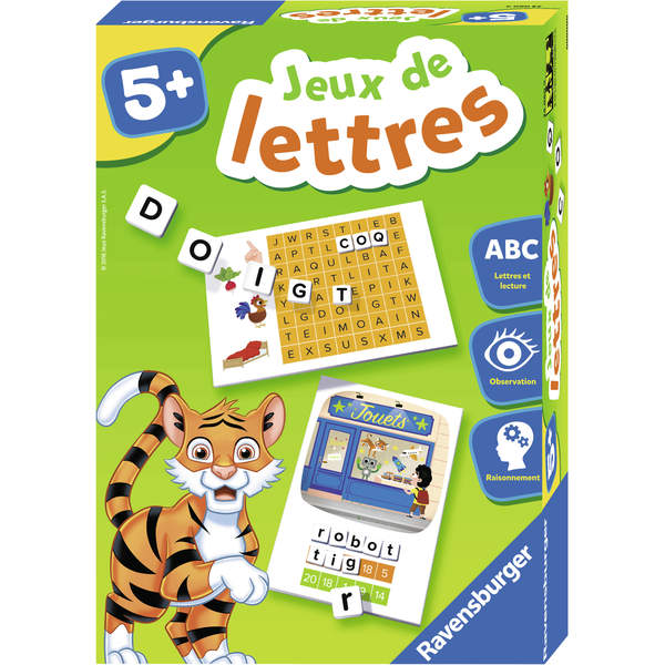 jeux de lettres ravensburger king jouet premiers apprentissages ravensburger jeux et jouets. Black Bedroom Furniture Sets. Home Design Ideas