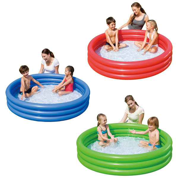 Piscine 3 boudins logitoys king jouet piscines jeux for Piscine gonflable 2 boudins