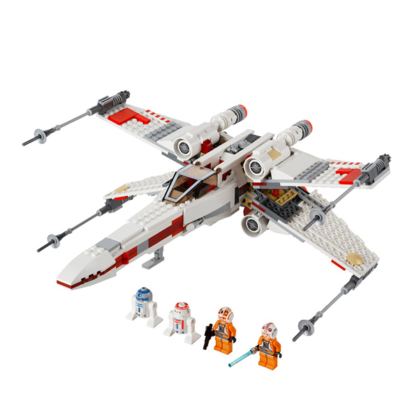 9493 x wing strafighter star wars lego king jouet lego. Black Bedroom Furniture Sets. Home Design Ideas