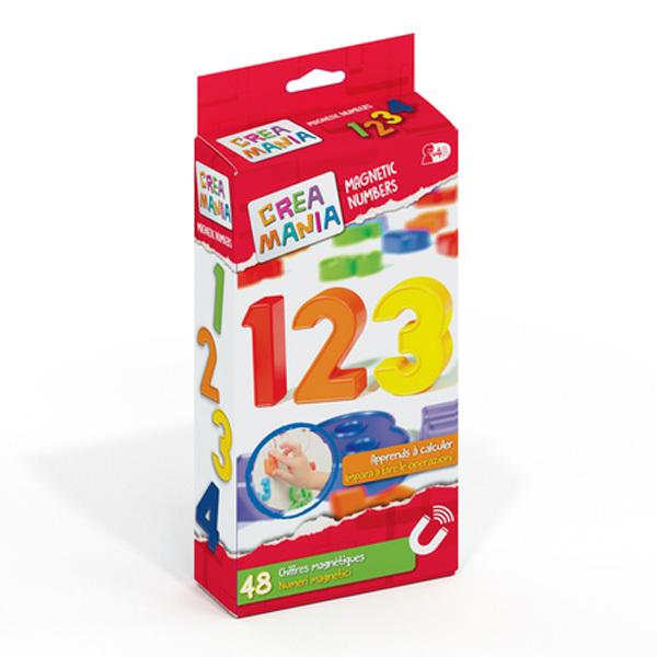 Nombres magnétiques 48 pièces