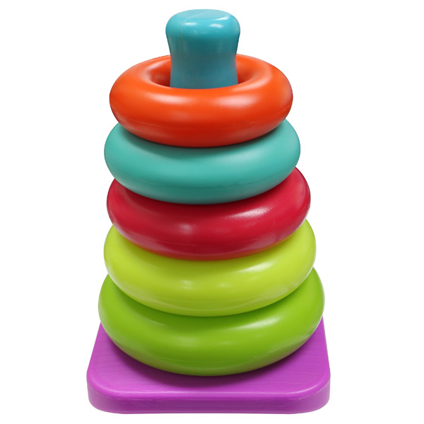 Baby Smile  Pyramide 5 anneaux  pas cher Achat / Vente Jeux d'éveil