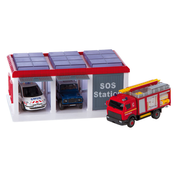 camion pompier 1 32 me de super jack city. Black Bedroom Furniture Sets. Home Design Ideas