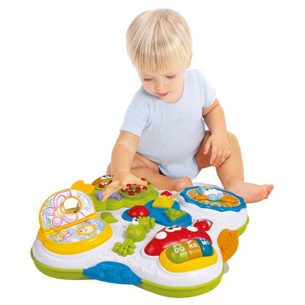 Table d 39 activit s baby smile king jouet activit s d for Table d activite bebe