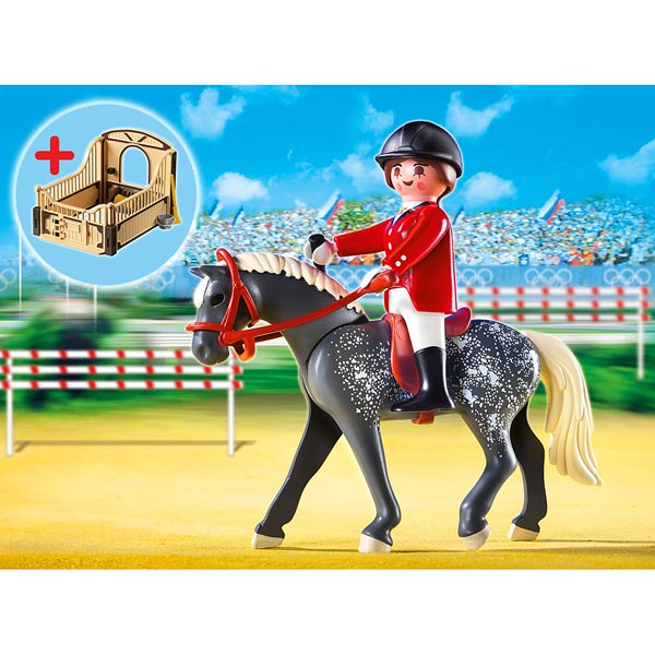 5110 cheval trakehner et cavali re playmobil king jouet. Black Bedroom Furniture Sets. Home Design Ideas