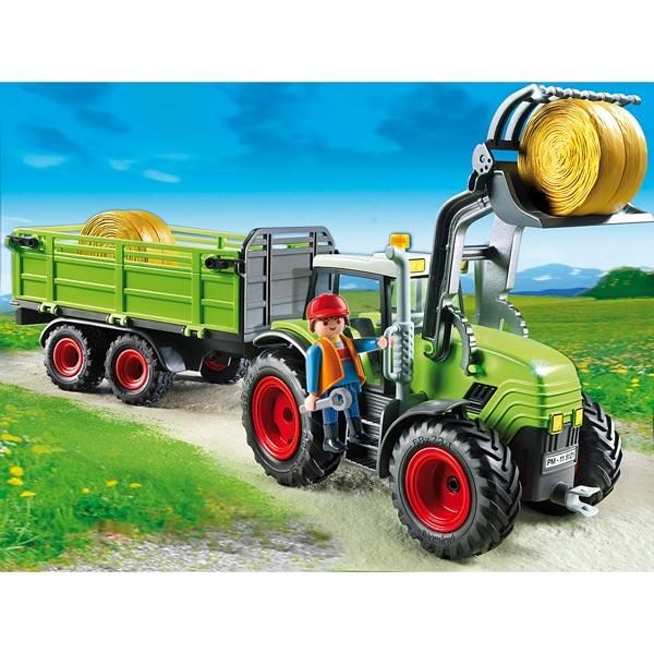 5121 grand tracteur avec remorque