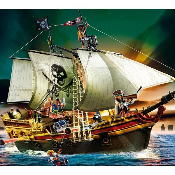 playmobil les pirates fant mes barque canon ile d serte et naufrag jouets playmobil. Black Bedroom Furniture Sets. Home Design Ideas