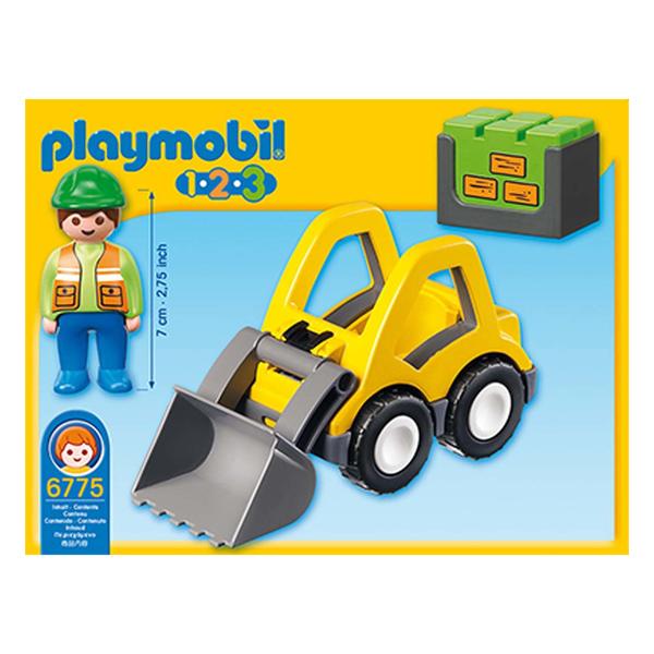 6775 - Chargeur et Ouvrier - Playmobil 1.2.3