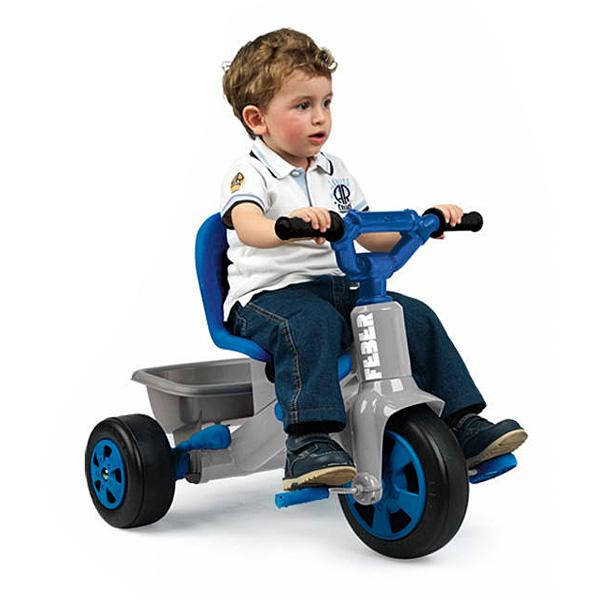 tricycle baby twist 360 bleu feber king jouet v los. Black Bedroom Furniture Sets. Home Design Ideas