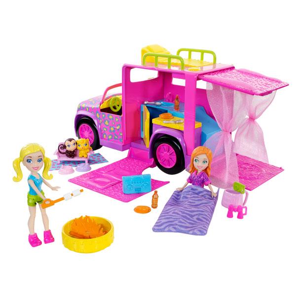 Limousine safari polly pocket mattel king jouet h ros - Polly pocket jeux gratuit ...