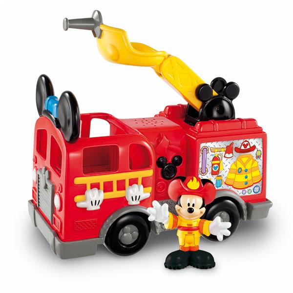 camion de pompiers mickey de mattel. Black Bedroom Furniture Sets. Home Design Ideas
